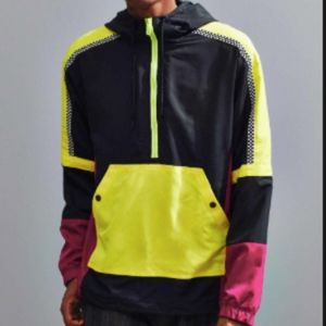Urban Outfitter's 90's Colorblock Anorak